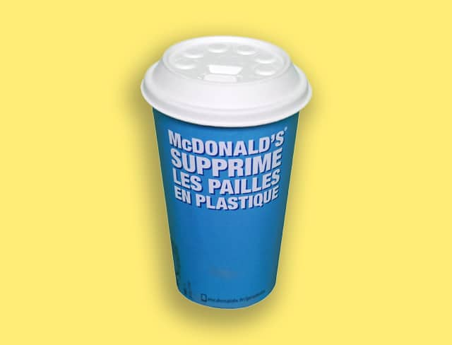 Plastique à usage unique