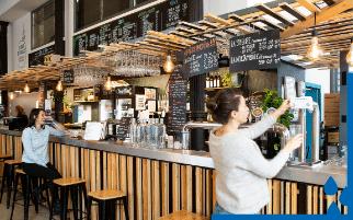 La démocratisation de l'alimentation durable chez les Halles de la Martinière